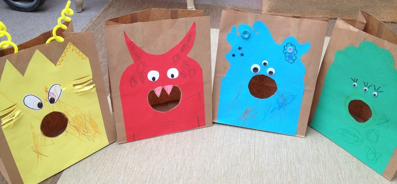 Monster, game, colour, Lego, preschool  - Hungry Monster Colour Matching Game
