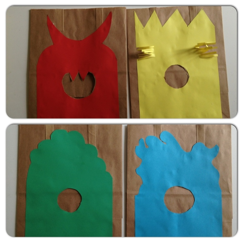 Monster, preschool, colours, games  - Hungry Monster Colour Matching Game