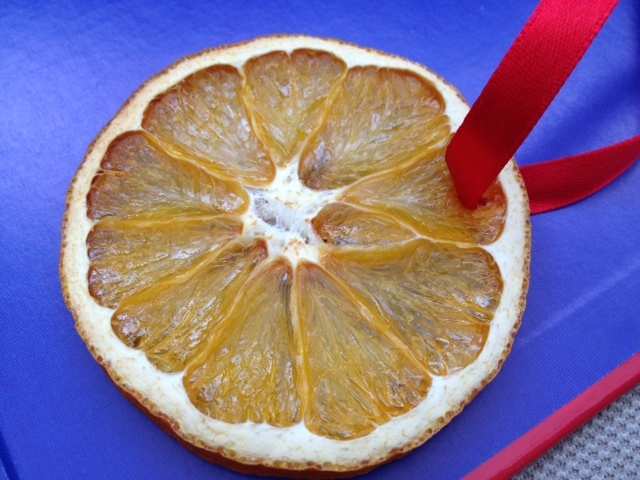 orange, christmas, decoration, children, slice, dry