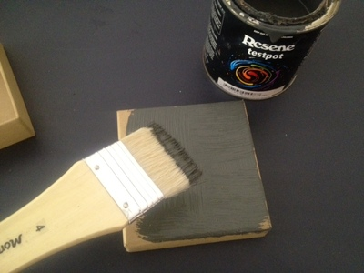 blackboard box painting, making a blackboard, blackboard travel game, chalk travel, sidewalk chalk box