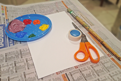 paintings, patterns, kids artwork, sticky tape painting