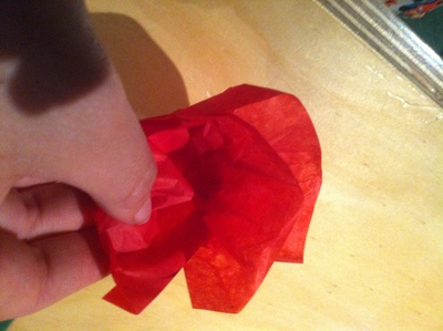 paper rose valentines day craft