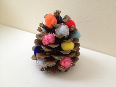 Pinecone, Christmas, tree, toddler, quick