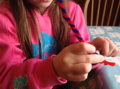 Pipe cleaners, twisted pipe cleaners