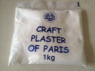 plaster of paris kids craft