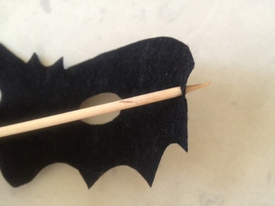 bat shape, halloween mask, easy dress up halloween, mask tutorial, bat, bat mask, bat costume