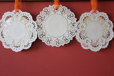 recycled cd ornaments