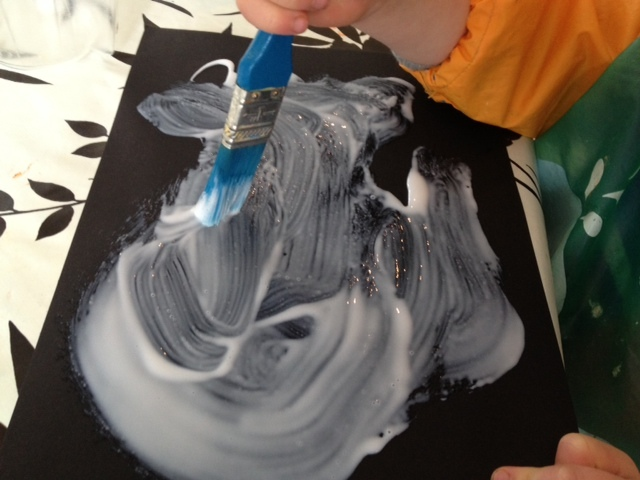 salt, art, pre school, under 5, texture
