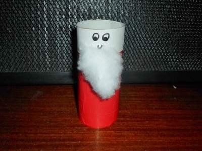 santa, christmas, craft, toilet roll, decoration, kids, craft activities, children