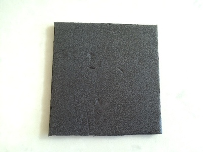 square from polystyrene takeaway box, meat vegetable tray for craft, styrofoam printmaking