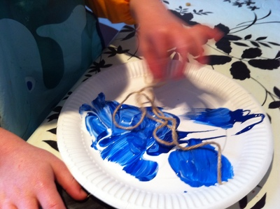 string, paint, art, child, pre school, kid, fun, activity
