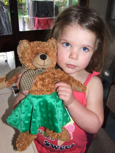 teddy, skirt, easy, craft, sewing, fabric