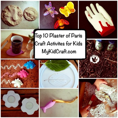 Top 10 plaster craft projects, how to use plaster of Paris, plaster of Paris kids craft ideas, plaster craft