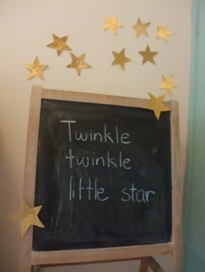 Twinkle Star Wall Decorations