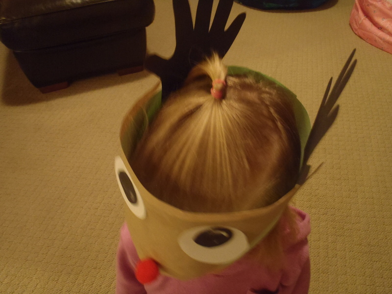 decorated face
