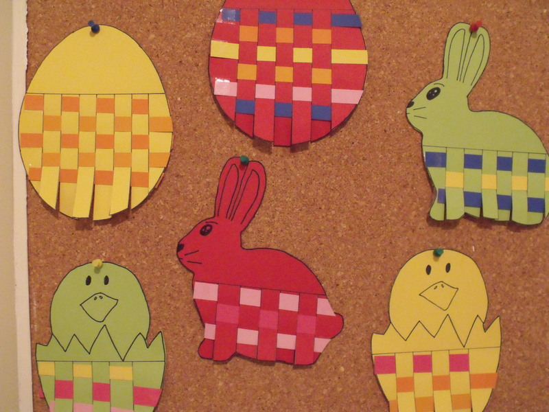 Easter Weaving
